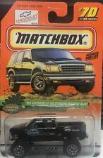 MATCHBOX # 70 99' CHEVY SILVERADO 4X4 PICKUP TRUCK-Ranger Partol