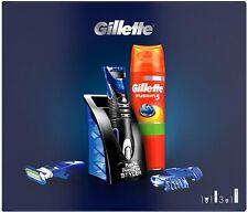 Gillette 3-in-1 Fusion ProGlide Styler  +  rasiergel / shaving gel 200ml SET