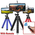 Flexible Smartphone Tripod Phone Holder Stand Bluetooth Remote for Phones Cell