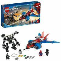 Lego Marvel Super Heroes Spiderjet vs. Venom Mech (76150)