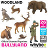 Genuine Bullyland Woodland Collection Plastic Figurines Figures Full Range!