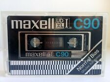 Maxell UD XL I c90 Blank Audio Cassette audio New RARE 1977 Year Japan made