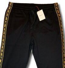$495 Bally Animals Black Sweatpants Size XXXL Made in Italy