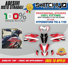 KIT ADESIVI GRAFICHE RACE TIME ITALY DUCATI HYPERMOTARD 796 DECALS DEKOR