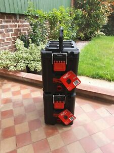 """2 x Milwaukee (4932471723) Packout Toolboxes  """"Fast Delivery"""""""