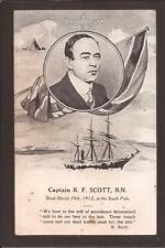 """Exploration. Captain R.F.Scott, R.N. """"A British Hero"""". In Memorium."""