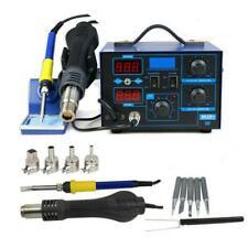 2in1 SMD 110V Electric ESD Soldering Iron Station Desoldering Welder Set 862D+