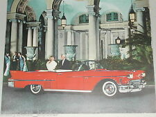 1958 Cadillac advertisement, Cadillac Coupe convertible at The Breakers, FL