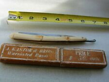 "Vintage straight razor, ""DIXON Cutlery Co."", beautiful handle"