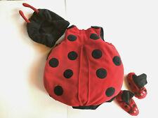 Lady Bug Costume: 4 Piece: 6-12 months: Happy Halloween Place: EUC: FUN!!