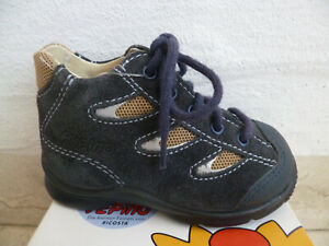 Ricosta Boots Walker Boots Blue Leather New