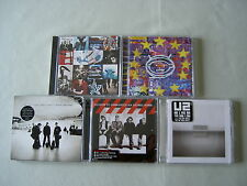 U2 job lot of 5 CD albums Achtung Baby Zooropa No Line On The Horizon