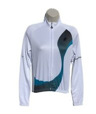 Cannondale Womens Small Cycling Jersey Blue Long Sleeve Thermal Running And To Have A Long Life. Cycling