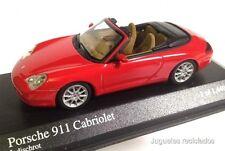 MINICHAMPS PORSCHE 911 CABRIOLET INDISCHROT MINIATURA ESCALA 1/43 DIECAST