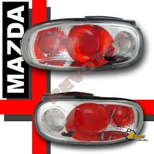 90-97 Mazda Miata MX5 MX-5 Chrome Tail Lights Lamps RH & LH