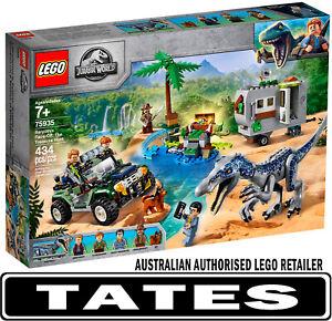 LEGO 75935 Baryonyx Face-Off: The Treasure Hunt  - Jurassic World from Tates ...