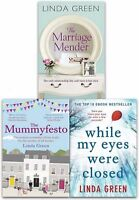 Linda Green Collection Marriage Mender 3 Books Set While My Eyes Were Close NEW