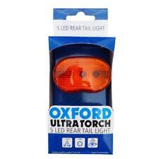 5 LED ULTRA BRILLANTI per Bici Posteriore Tail Luce Oxford of280 Light & Batterie & Staffa