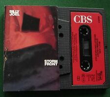 Billy Joel Storm Front inc We Didn't Start The Fire + Cassette Tape - TESTED