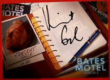 BATES MOTEL - VINCENT GALE as Gil - AVG1 - [BLACK INK] Autograph Card