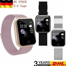 Damen Bluetooth Smartwatch Schrittzähler Armbanduhr Sport Fitness Tracker 2020