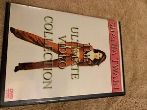 shania twain music dvd
