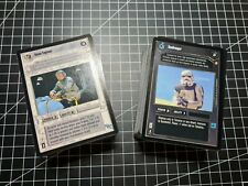 Star Wars CCG: Special Edition Complete UC/C/F Set Uncommon Common Fixed 204