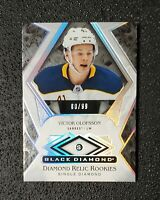 🔥 🔥 Victor Olofsson 2019-20 Black Diamond Relic Rookie Card #'D80/99 DIAMOND!