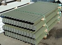 Corrugated Roof Sheets Olive Green PVC Coated Metal/Steel/Tin Roofing Cladding