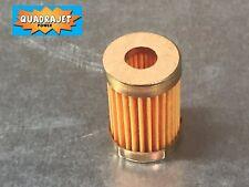 Quadrajet short fuel filter with spring. Quadrajet Power
