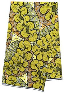African Fabric Beautiful Multi Color Attractive Wax Print Sewing Crafts Per Yard
