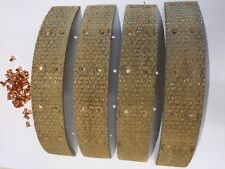 "JAGUAR MK 5 2 1/2 & 3 1/2 LITRE 1949 REAR 1 3/4"" BRAKE LININGS & RIVETS WW800AF"