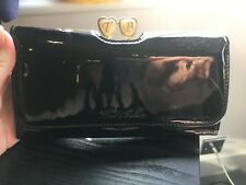 Ted Baker black purse with coin area - used