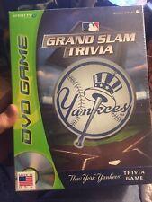 New York Yankees Grand Slam Trivia DVD Game officially Licensed. SnapTV games