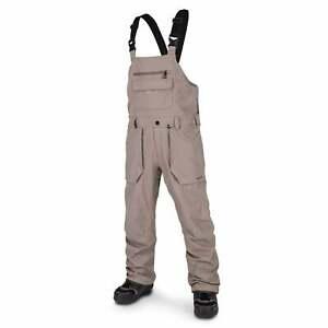 Volcom Roan Bib Overall Pant - Teak