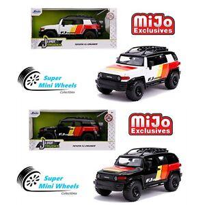 Jada 1:24 Just Trucks - MiJo Exclusives - Toyota FJ (Black & White)