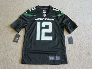 Nike Authentic N.Y. JETS Legend 'BROADWAY JOE' #12 NAMATH Jersey Men S New Nice!