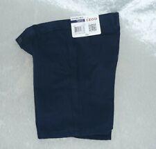 New Izod Boys Uniform School Shorts Adjustable Waist size 4