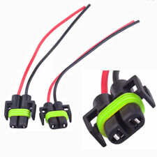H11 Wiring Harness Socket Wire Connector Female Adapter for Headlight Fog Light