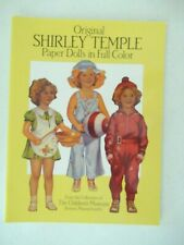 1988 Shirley Temple Paper Dolls The Children'S Museum New