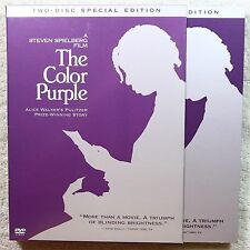 The Color Purple (DVD, 2003, 2-Disc Special Edition, WS) 1985-LN W/Slipcover  LZ