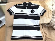 Adidas Barbarians BOA 100 Years Centenary Rugby Polo Shirt Medium In Great Cond