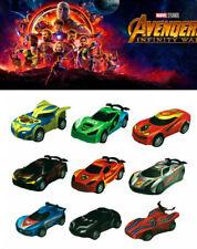 9 Avengers Infinity War Endgame Thanos Pull Back Model Car Diecast Vehicle Toy