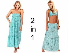 Calf Length Floral Sleeveless Maxi Dresses for Women