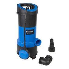 Silverline 917615 bomba sumergible para aguas limpias y residuales 750 W