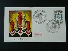 international chess festival FDC 1966