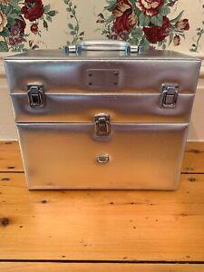 OPI Nail Polish Case Silver Designer Manicure HTF Empty Case No Polish Included!