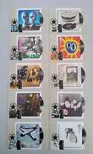 2010 CLASSIC ALBUM COVERS Set of 10 First Day Front Brixton Postmarks