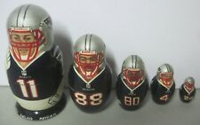 THE NEW ENGLAND PATRIOTS RUSSIAN NESTING DOLL DREW BLEDSOE