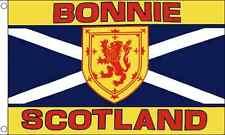 Bonnie Scotland 5' x 3' Flag Scottish Scot Celtic St Andrews Cross